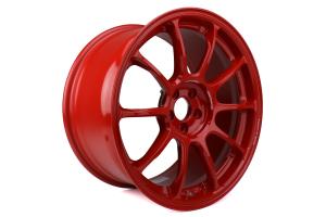Volk ZE40 18x9.5 +43 5x100 Hyper Red - Universal
