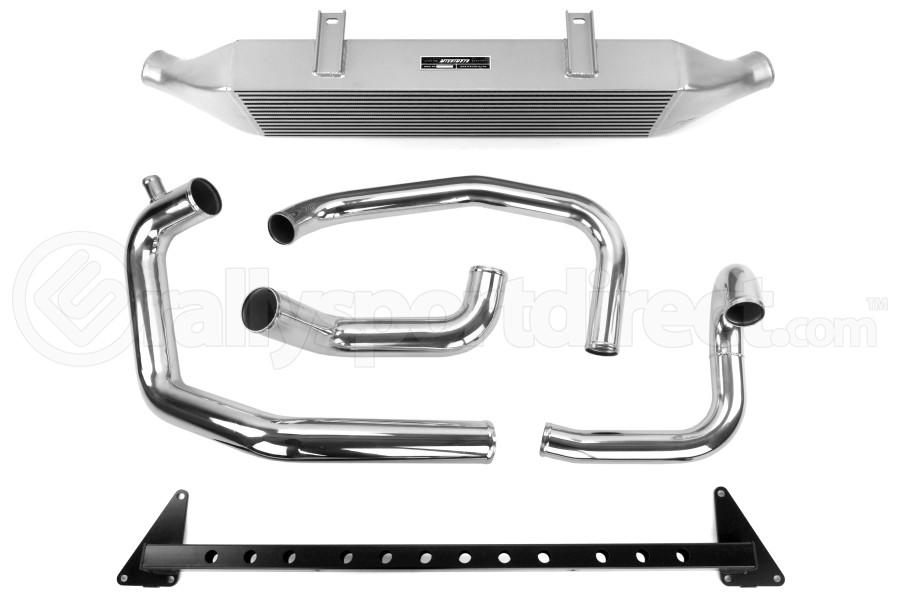 Mishimoto Front Mount Intercooler w/ Intake Silver - Subaru STI 2008-2014