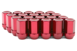 Gorilla Aluminum Closed End Red Lug Nuts 12x1.25 ( Part Number:GOR 44128RD-20)