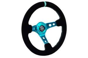 NRG Innovations Reinforced Sport Steering Wheel - 350mm (Multiple Color Options) - Universal