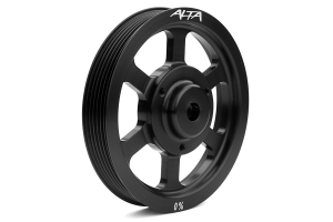 Alta Crank Pulley Black (Part Number: )