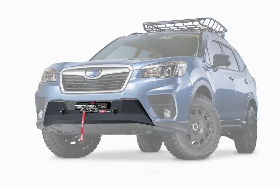 Warn Industries Semi-Hide Winch Mount - Subaru Forester 2019+