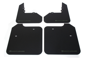 Rally Armor Classic Mud Flaps Grey Logo ( Part Number: MF3-GRY)