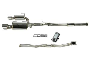 COBB Tuning Stage 2 Power Package Resonated J-Pipe - Subaru WRX 2015+