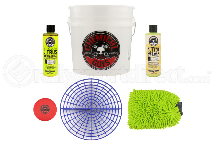 Chemical Guys Best Detailing Bucket Kit (6pc) Blue - Universal