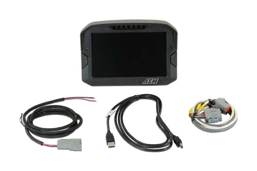 AEM Electronics CD-7 Carbon Digital Display Non-Logging / Non-GPS - Universal