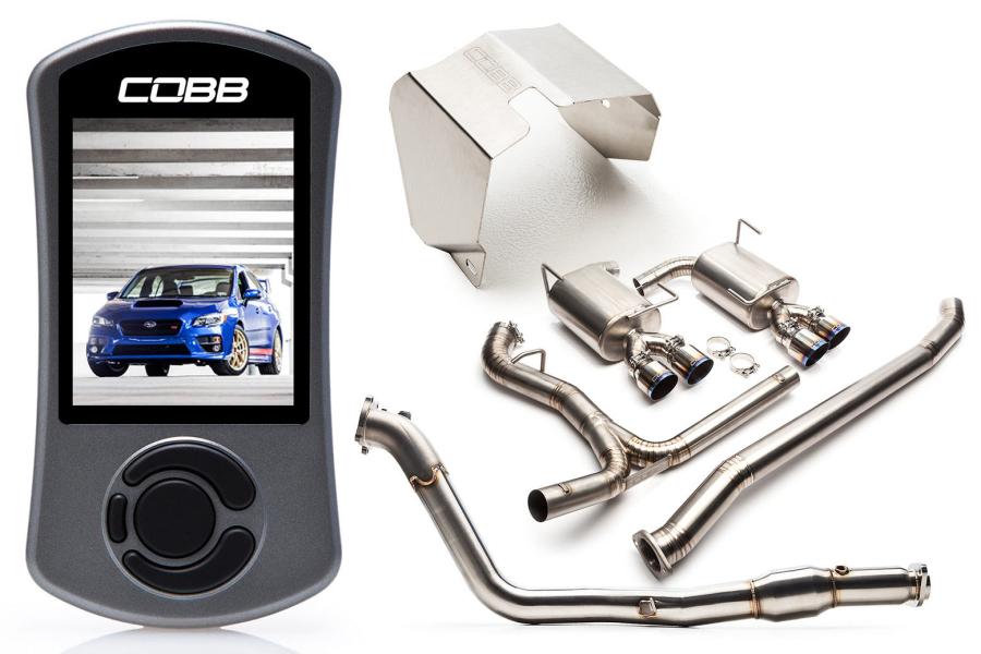 COBB Tuning Subaru Stage 2 Power Package Titanium - Subaru STI 2015+