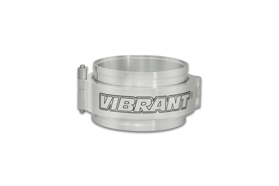 Vibrant Performance HD Clamp System Assembly Polished - Universal