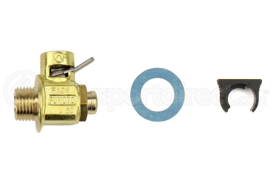 Fumoto M16-1.5 Oil Drain Valve w/ Short Nipple and Lever Clip (Part Number:F108S-LC-10)