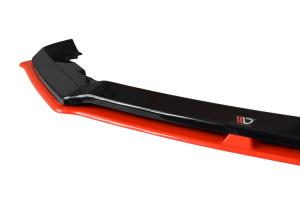 Maxton Design V5 Redline Gloss Black Front Lip  (Part Number: )