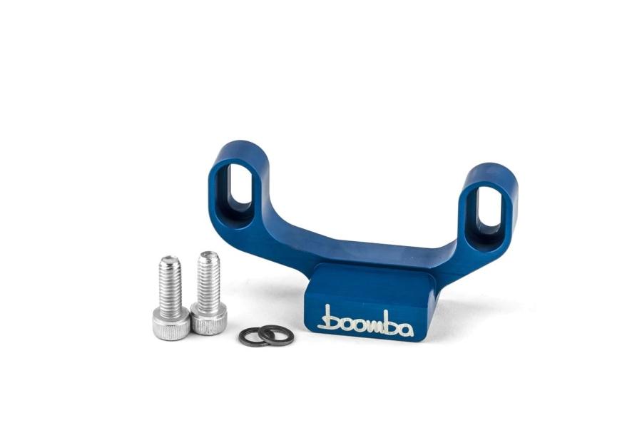 Boomba Racing Adjustable Shifter Stop Blue - Subaru WRX 2015+