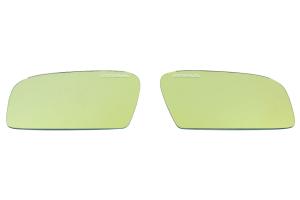Prova Wide-View Door Mirrors Yellow - Subaru WRX/STI 2008-2014