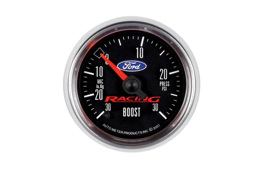 Autometer Ford Racing Boost Gauge Electrical 52mm - Universal