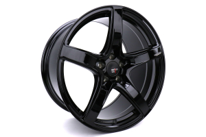 Option Lab Wheels R555 18x9.5 +38 5x100 Gotham Black - Universal