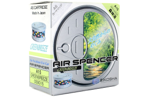Eikosha Air Spencer AS Cartridge Green Breeze Air Freshener - Universal