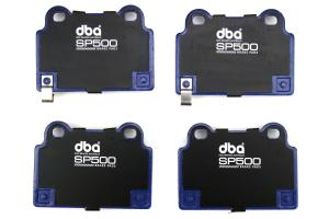 DBA SP500 Rear Brake Pads - Mitsubishi Evo X 2008-2015