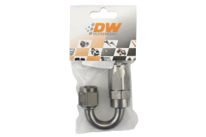 DeatschWerks 6AN Swivel 180-degree Hose End CPE - Universal
