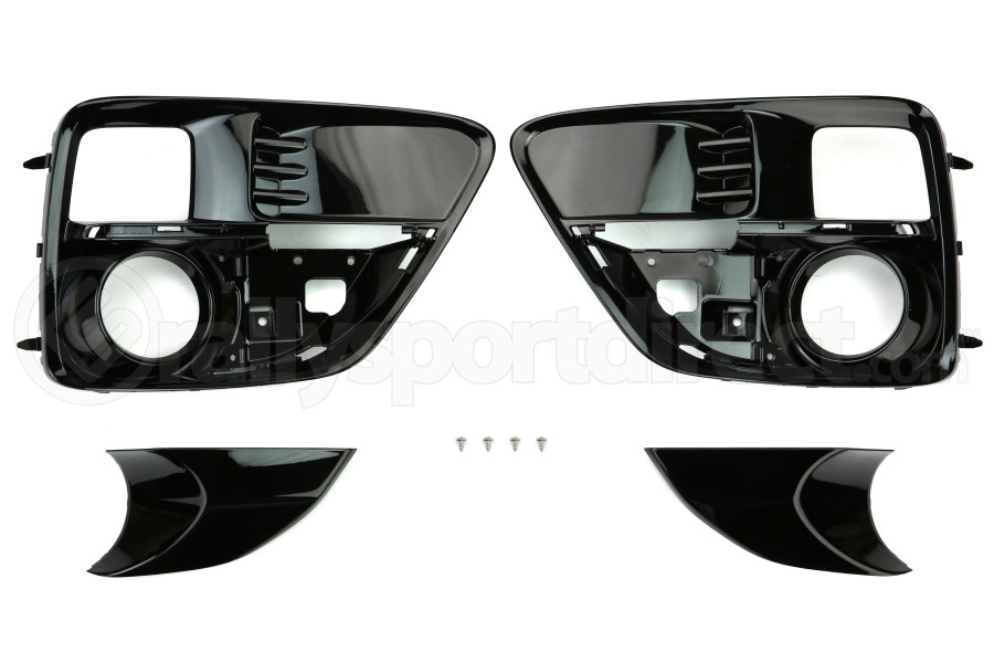 STI JDM Front Fog Light Bezel Covers ( Part Number:STI H4517VA017)
