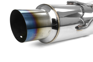 Invidia Racing Cat Back Exhaust Titanium Tip (Part Number: HS09MEXGRT)