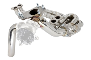IAG Performance Unequal Length Header & 44mm External Wastegate Uppipe - Subaru Models (Inc. WRX 2002-2014 / STI 2004+)