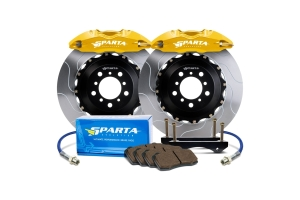 Sparta Evolution Saturn Rear Big Brake Kit w/ Powder Coated Calipers - Ford Focus RS 2016 - 2018