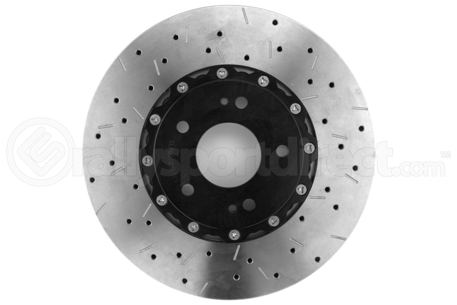 DBA 5000 Series Drilled/Slotted Rotor Single Front Black (Part Number:52218BLKXS)