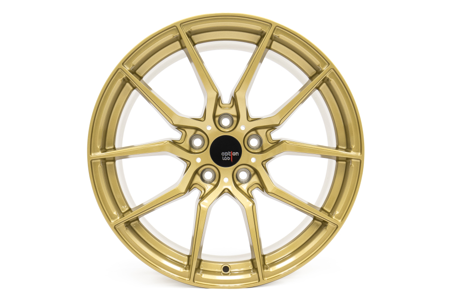 Option Lab Wheels R716 18x9.5 35 5x114.3 Top Secret Gold - Universal