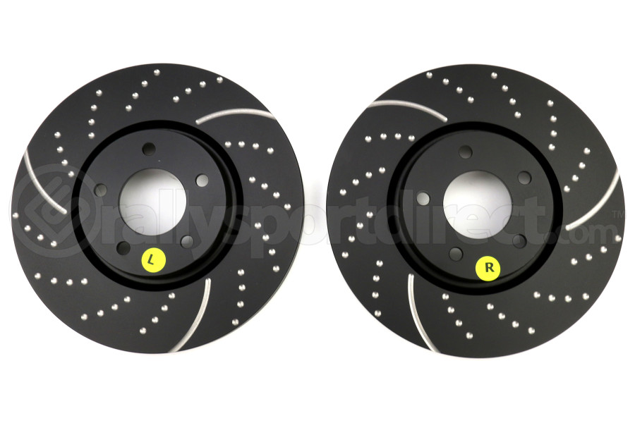 EBC Brakes 3GD Sport Dimpled/Slotted Front Brake Rotors - Mazdaspeed3 2007-2013