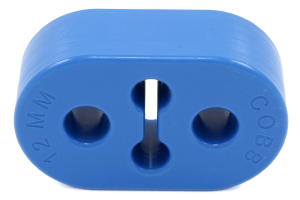 COBB Tuning 12MM Blue Urethane Exhaust Hanger Standard Length - Subaru Models (inc. 2008+ WRX/STI / 2005-2009 Legacy GT)