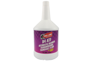 Red Line Automatic Transmission Fluid D4 ATF 1 Quart (Part Number: )