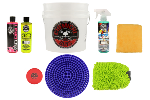 Chemical Guys Best Wash and Dry Bucket Kit (8pc) Blue - Universal