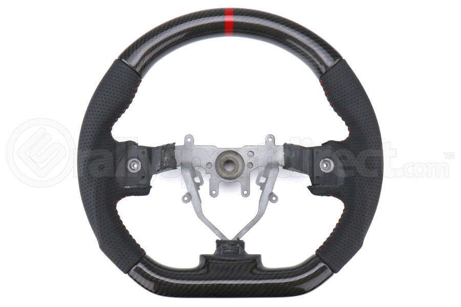 FactionFab Steering Wheel Carbon and Leather - Subaru WRX / STI 2008 - 2014