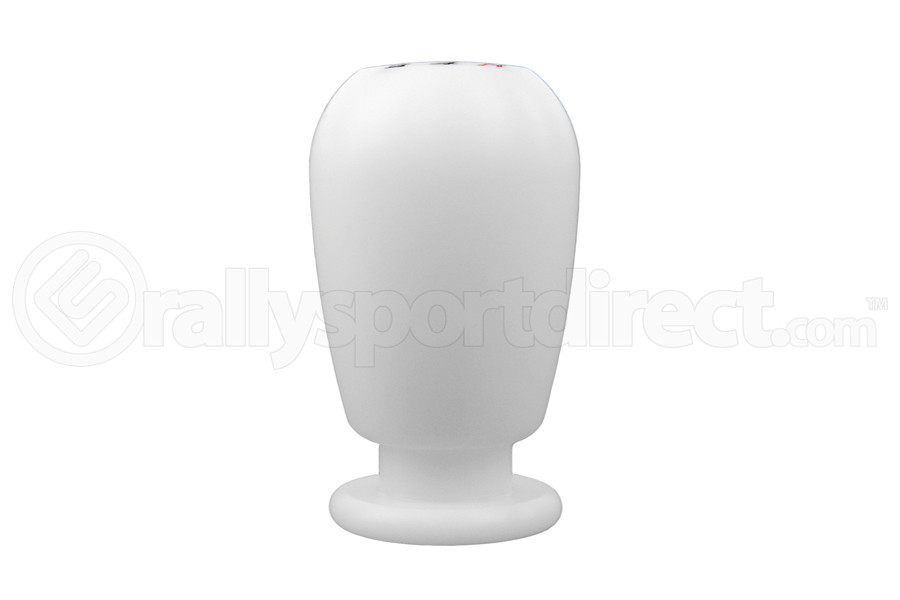 Beatrush Duracon Shift Knob White Style A M12x1.25 (Part Number:A91212W-A)