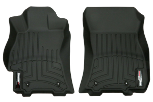 Weathertech Black Front and Rear Floorliners ( Part Number:WEA 44708-1-2)