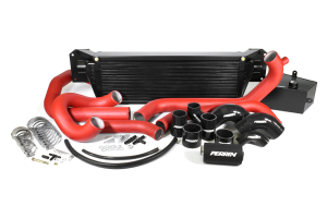 PERRIN Front Mount Intercooler Kit Red Piping/Black Core (Part Number: )