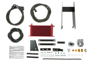 Greddy Oil Cooler Kit Red ( Part Number: 12014636)