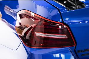 SubiSpeed JDM Style Sequential Tail Lights Smoked Red - Subaru WRX / STI 2015-2021