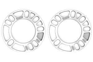 KICS Wheel Spacers 10mm Twin Pack Universal ( Part Number: W010UP)