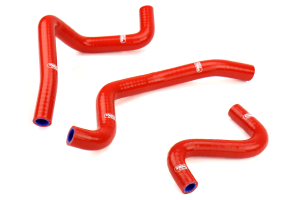 Samco Ancillary Hose Kit Red - Subaru WRX 2002-2003