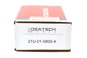 DeatschWerks Fuel Injectors 800cc ( Part Number:DET 21U-01-0800-4)
