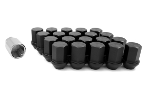 Volk Racing Rays 35MM 12X1.50 Lug Nuts Black ( Part Number:VOL W351215B)