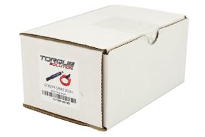 Torque Solution Rear Tow Hook Red - Scion FR-S 2013-2016 / Subaru BRZ 2013+ / Toyota 86 2017+