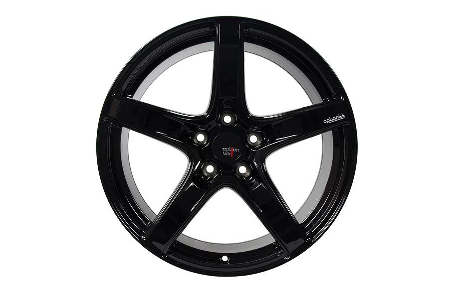 Option Lab Wheels R555 18x8.5 +35 5x114.3 Gotham Black - Universal