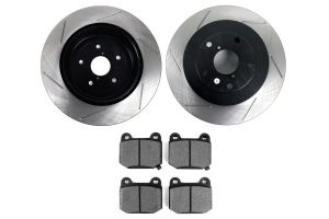 Stoptech Street Axle Pack Slotted Rear ( Part Number:STP 937.47509)