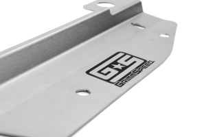 GrimmSpeed Radiator Shroud w/ Tool Tray Stainless (Part Number: )