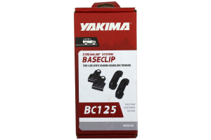 Yakima 125 Baseclips ( Part Number:YAK 8006125)