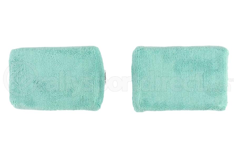 Chemical Guys Microfiber Applicator Pads Premium Grade Green (2 Pack) - Universal