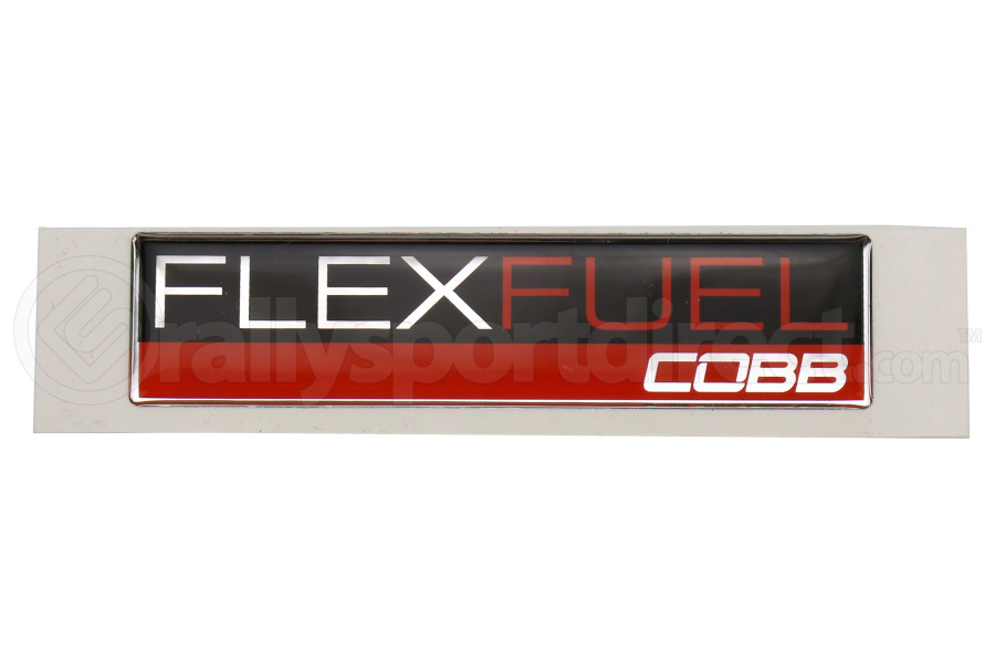 COBB Tuning Flex Fuel Badge (Part Number:CO-FLEX-FUEL-BADGE)