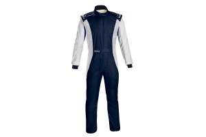 Sparco Competition Racing Suit Navy / White - Universal