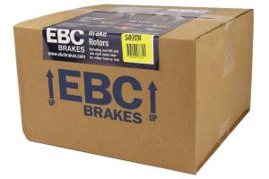 EBC Brakes S4 Rear Brake Kit Redstuff Pads and USR Rotors - Subaru STI 2005-2007